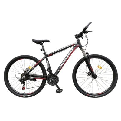 Shimano BT Bicycle with Aluminum Frame, Size 27, Black