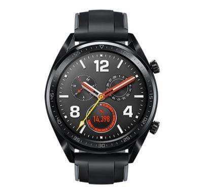 Huawei Watch GT Sport Black Stainless Steel Graphite Black Sport Strap V401