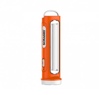 Sonashi 2 In 1 Rechargeable Led Torch With Lamp Orange, SPLT-108