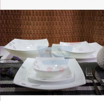 RoyalFord 26 Pieces Square Dinner Set - RF6892