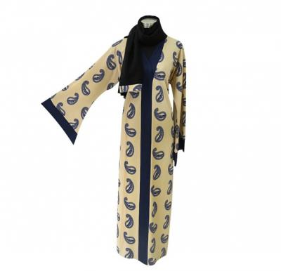 Abaya -1003 For Woman, Stretchable Material & Customize Size