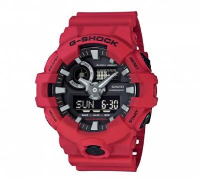 Casio G-Shock Mens Rubber Analog/Digital Watch GA-700-4A