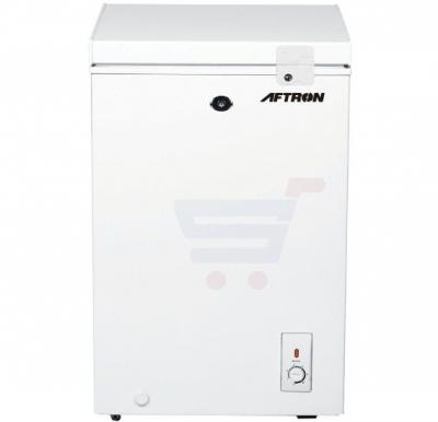Aftron Chest Freezer With Super Freezing Functions White 120L - AFF1210H