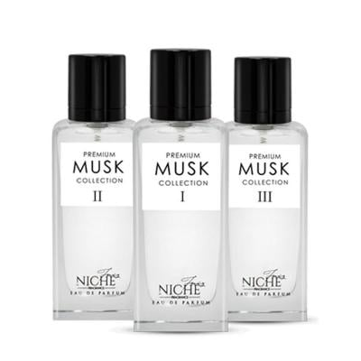 Faiz Niche Premium Musk Collection EDP 60ML 3 Set