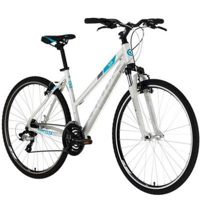 Kellys Hybrid Bikes White Medium Size, Clea 30