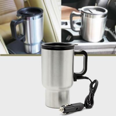 Auto Electric Car Mug Device 12 V 450 ML Water Tea Coffee Maker