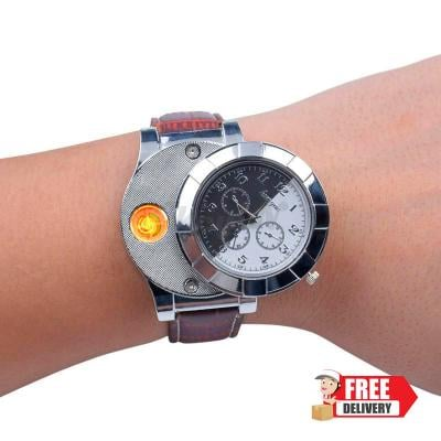 Brown Flameless  Trendy Watch