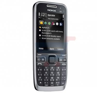 Nokia E52 Symbian Phone, 2 4 Inch TFT Display, Dual Camera, Single SIM,  WiFi, Bluetooth, FM Radio - Black