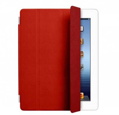 Apple iPad 3 Leather Case Red MD304, 1 Year Warranty
