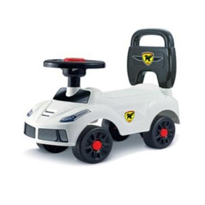 DAT Walking Car with Light,  Music & Story White Color, LB-84