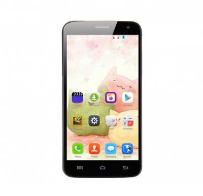 A6 Smartphone, 3G, Android 5.1, 4.5 inch LCD Display, 1GB RAM, 4GB Storage, Dual Camera, Dual SIM, Wifi - Black