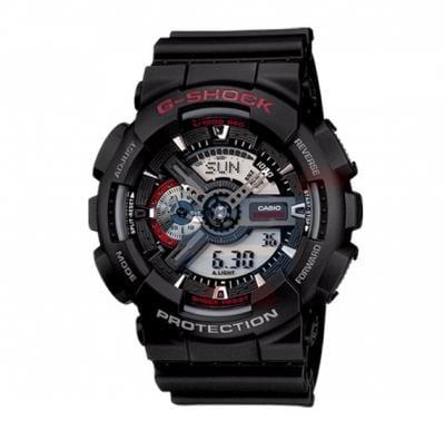 Casio G-Shock GA-110-1ADR Analog Digital Watch For Men-Black