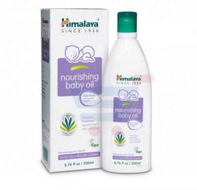 Himalaya Nourishing Baby Oil With Pump 200 ML