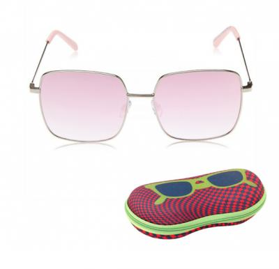 TFL Eyewear Square Women Sunglasses, 16492-Pink