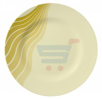 Royalford Melamine Ware 10 Inch Dinner Plate AquaThai - RF8138