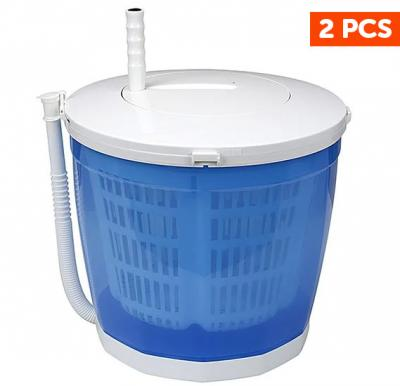 2 Pcs Krypton Portable Manual Washing Machine, KNSWM6126