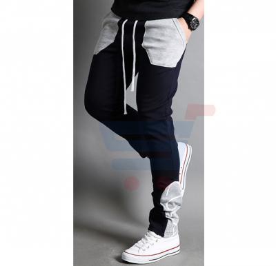 Mens CUBA Sporty Designer Trouser Black - 1853 - S