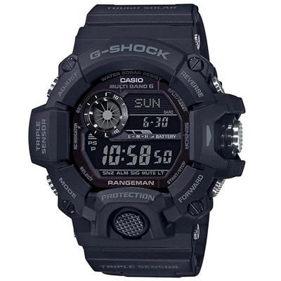 Casio G-Shock Men Rangeman Digital Sensor Solar Watch, GW-9400-1BDR