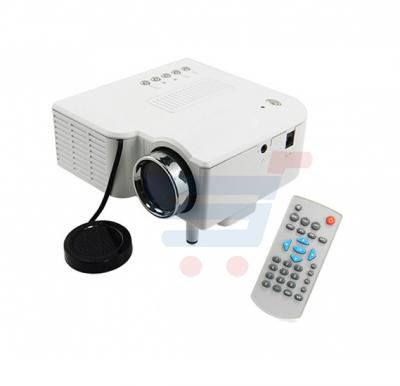 Bison LED HD Home  Projector UC28+(White)