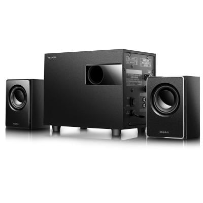 Impex Micro R1 2.1 Channel Bluetooth Home Theater System Set HT 2115 Black