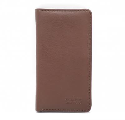 Philippe Morgan premium Leather Wallet 671 Brown