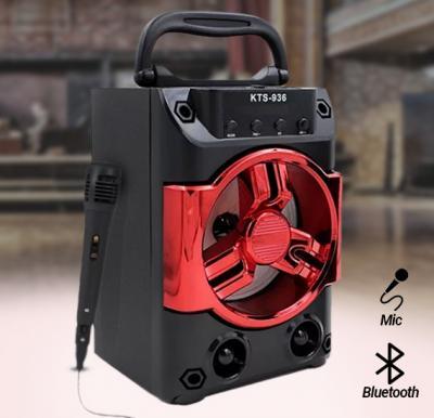 2 In 1 Bundle of Wireless Karaoke Portable Bluetooth Speaker with Mic,OK34104
