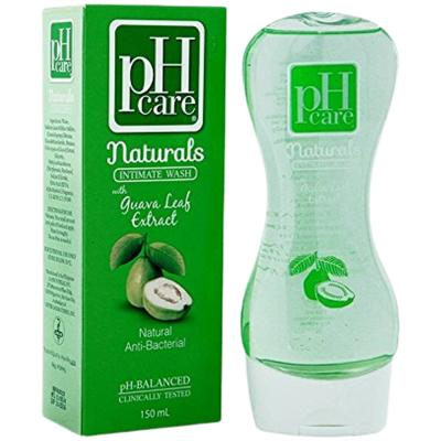 pH Care Naturals Intimate Wash with Guava Leaf Extract Natural Anti-Bacterial 150ml