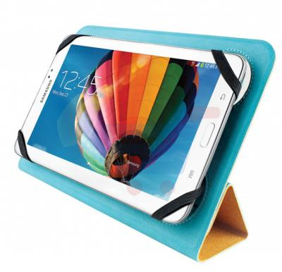 Promate uniCase10 Double face universal protective case for 9 to 10 inch Tablets Blue - uniCase10.Blue