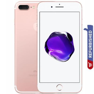 Apple iPhone 7 Plus 3GB RAM 128GB Storage 4G LTE, Rose Gold- Refurbished