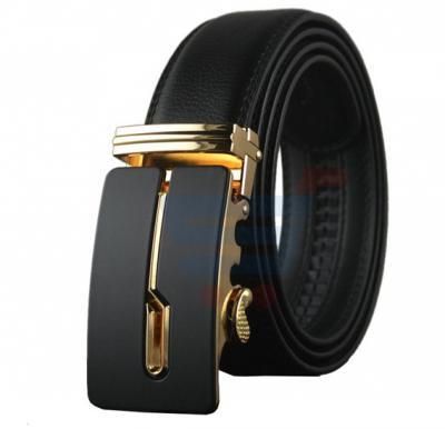 Formal Black Leather Belt For Men