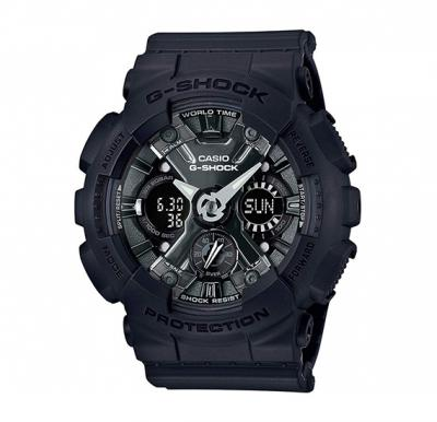 Casio G-Shock Analog-Digital Black Dial Womens Watch-GMA-S120MF-1ADR