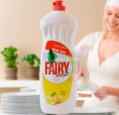 Fairy lemon Dishwashing Liquid 750ml