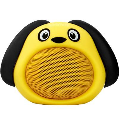 Promate Portable Wireless Kids Bluetooth Speaker, SNOOPY, Yellow