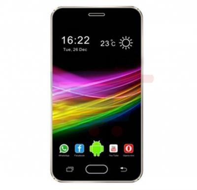 Enes G11 3G Smartphone, Android, 4.0 Inch Screen,1GB RAM, 8GB Storage,Dual Camera,LED Torch, WiFi,BT,FM Radio-Gold