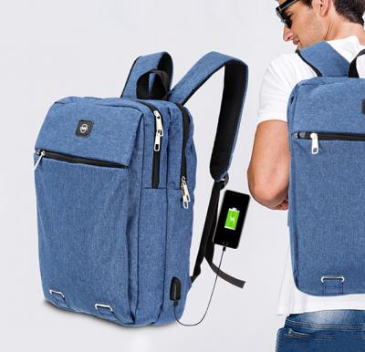 Okko Casual Backpack - 16 Inch, Blue,OK33806
