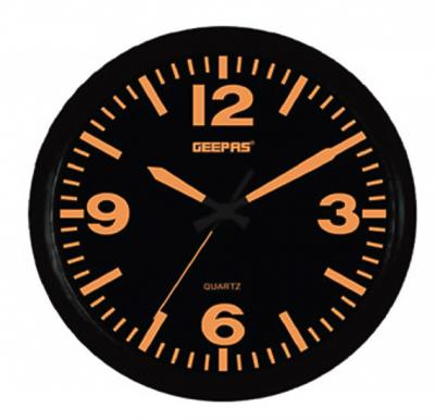 Geepas GWC4814 Wall Clock with Matte Frame