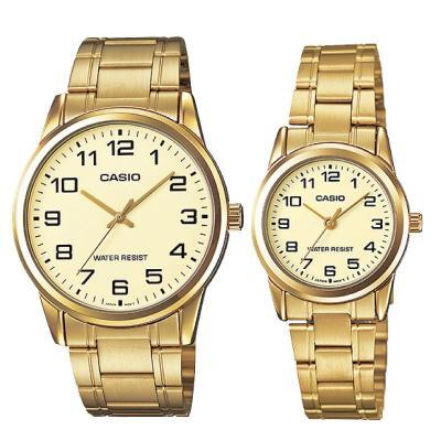 Casio MTP/LTPV001G-9B  LTP-V001G-9B Couple Watch