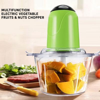 Multifunction Electric Vegetable Fruits & Nuts chopper & Meet Grinder