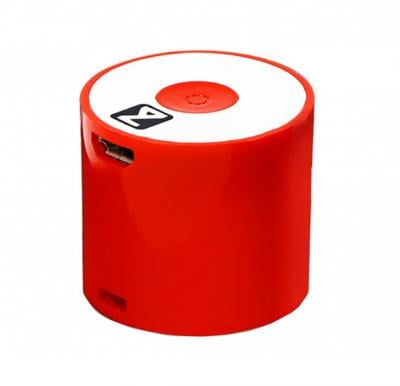 Zakk Atom Y86 Smart Box Portable Bluetooth Mobile/Tablet Speaker-Red
