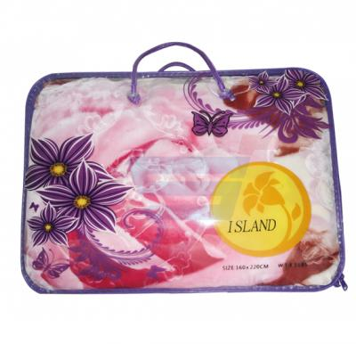 Island Embossed Polyester Blanket Single-160x220 CM