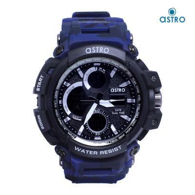 Astro Kids Analog-Digital Black Dial Watch A9818-BLUE, Size 53