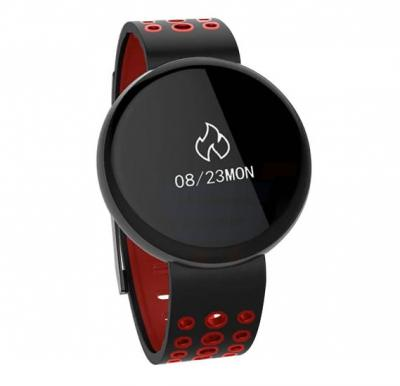 F4 Waterproof Round Screen Bluetooth Smart Watch with Blood Pressure Heart Rate Monitor option IP68