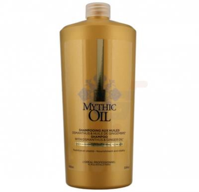 Loreal Mythic Oil Shampoo For Normal Or Fine Hair 1000ML