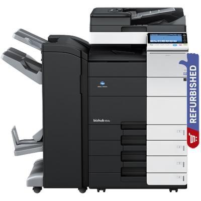 Konica Minolta Bizhub 454e Monochrome All In One Printer, Refurbished