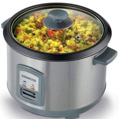 Kenwood Rice Cooker with Steamer, Stainless Steal, 1.8 litre, RCM45.000SS, RCM45.SS
