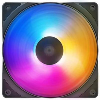 Deepcool DP-FLED3-RF120FS RF120 FS LED Cabinet Fan Triple, Black