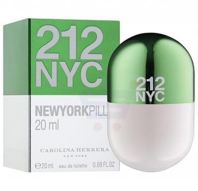 Carolina Herrera 212 NYC Pill EDT 20ml For Women