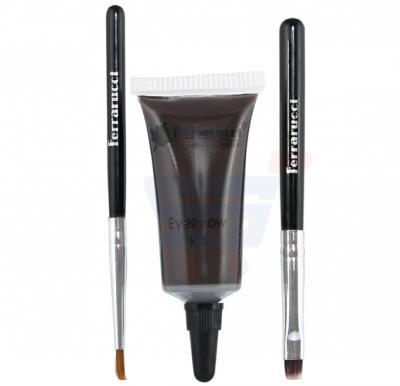 Ferrarucci Kit Sourcils and Eyebrow Kit 8ml, 03