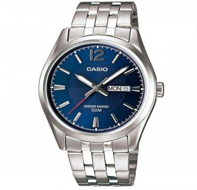Casio Mtp-1335D-2Avdf Enticer Analog Multi-Color Dial Mens Watch