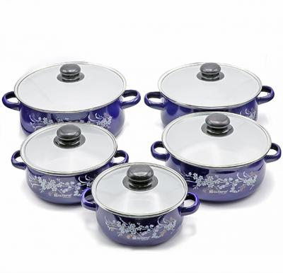 Olympia Casserole 10 Pieces Sets With Glass Cover, OE-015